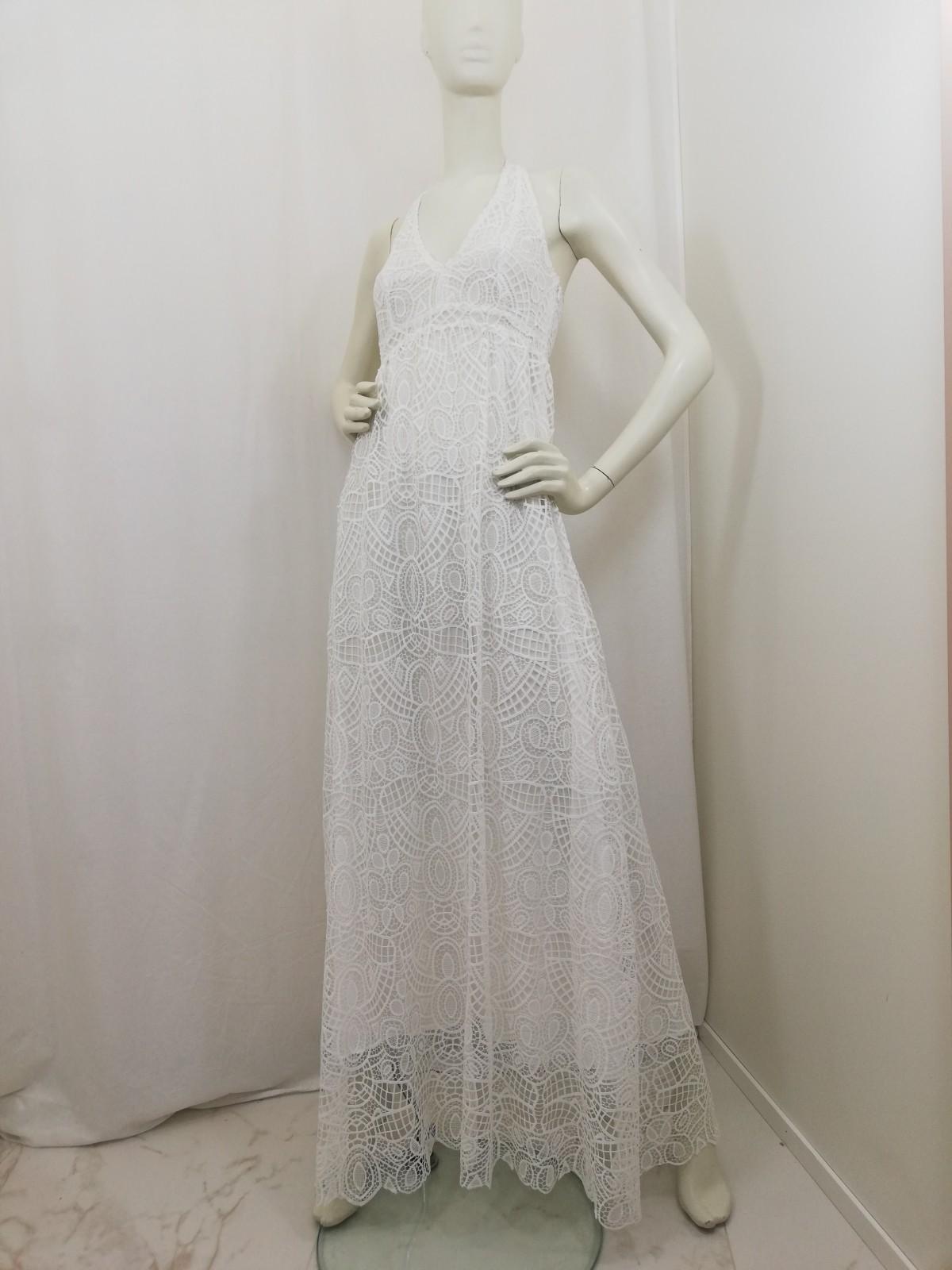 quality design e90da 77435 Long lace dress. Neck closure, nude. Liu Jo